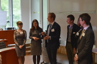 The Wallenberg Fellows introducing themselves