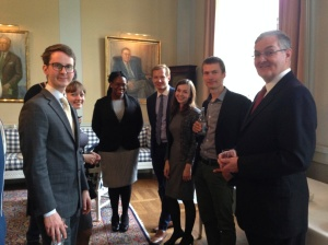 All six Wallenberg Fellows meet for the first time