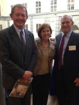 Marcus Wallenberg, Rosie O'Neil and Professor Moran
