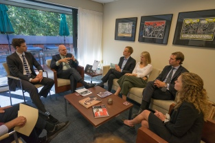 Wallenberg Dean Hellman Visit 9